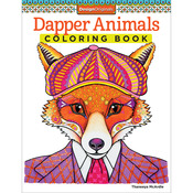 Dapper Animals Coloring Book - Design Originals
