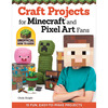 Craft Projects for Minecraft (R) - Design Originals Design Originals-Craft Projects For Minecraft (R). Bring your Minecraft adventure to life with easy-to-make craft projects! Use this imaginative book to create instantly recognizable toys, jewelry, wearables, and accessories, based on one of the most popular video games of all time. Make real world versions of all your favorite Minecraft characters and game elements using only a few basic craft supplies. The blocky-pixilated graphics of Minecraft are perfect for so many different kinds of crafts. Inside You will find fifteen fun step-by-step projects for perler beads, duct tape, paper crafting, sewing and crocheting. Author: Choly Knight. Softbound; 48 pages. Published Year: 2014. ISBN 978-1- 57421-966-1. Made in USA.