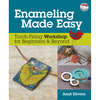 Enameling Made Easy - Kalmbach Publishing Books KALMBACH PUBLISHING BOOKS-Enameling Made Easy. The power of color comes alive with Enameling Made Easy! Anat Silvera teaches jewelry makers multiple ways to create depth and texture with this rich medium as well as how to hone their metalworking skills<BR>- all using only an affordable handheld butane torch. This book contains twenty-seven projects, one DVD with twelve how-to techniques and colored photos. Author: Anat Silvera. Spiral-Bound, 144 pages. Published Year: 2014. ISBN 978-0-87116-770-5. Imported.