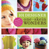 101 Designer One-Skein Wonders - Storey Publishing WORKMAN PUBLISHING-101 Designer One-Skein Wonders.  This book includes designer projects that range from the adorable to the elegant.  Included are plenty of patterns for hats, scarves, bags and shawls. Also includes patterns for a knitted notebook cover, a square belt with beads, an elegant ring bearer pillow and much more! These designs are for beginners to experienced individuals and the patterns are arranged by yarn weight to help readers easily find broad ranges of possibilities for their single skeins.  A full-color gallery features detailed photos of all 101 projects!  Author: Judith Durant.  Softcover:  256 pages.  Made in USA.