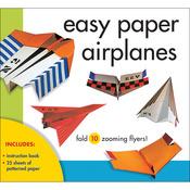 Easy Paper Airplanes Kit - Sterling Publishing