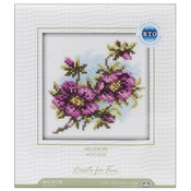 "4""X4"" 14 Count - Hellebore Counted Cross Stitch Kit"