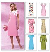 BB (8-10-12-14) - Misses'/Misses' Petite Dress