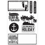 Sandy Toes Clear Stamps - KaiserCraft