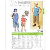 XS (4-5) - S (6) - M (7-8) - L (10) - XL - Shorts, Shirts & Hat