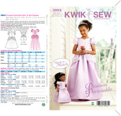 Princess Periwinkle Girls' & Doll Made to Match® Dresses - XS(4-5) - S(6) - M(7