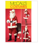 XN (XLG-XXL-XXXL) - Misses'/Men's Santa Costumes and Bag