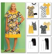 RR (18W-20W-22W-24W) - Women's Tops, Dresses, Shorts and Capri Pants