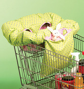 One Size Only - 3-In-1 Shopping Cart Cover