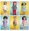 One Size Only - Doll Clothes For 18 (46cm) Doll McCall Pattern<BR>- Doll Clothes For 18 (46cm) Doll