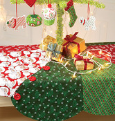 One Size Only - Ornaments, Wreath, Tree Skirt and Stocking