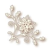 Poinsettia Corner Wild Rose Studio Specialty Die