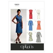 B5 (8-10-12-14-16) - Misses'/Misses' Petite Dress and Belt