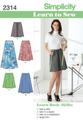6-8-10-12-14-16-18 - Simplicity Misses Skirts Pants