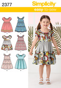 3-4-5-6-7-8 - Simplicity Child Dresses