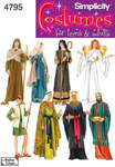 XS,S,M,L,XL - Simplicity Misses,men Or Teen Nativity Costumes