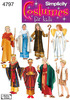 S,M,L - Simplicity Boys And Girls Costumes