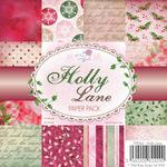"""Holly Lane - Wild Rose Studio Ltd. Paper Pack 6""""X6"""" 36/Pkg"""