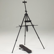 Black - Italia Watercolor Easel W/Carrying Case