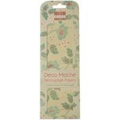 "Boho Chic, Leaves - Deco Mache Paper 10.25""X14.75"" 3/Pkg"