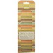 """Boho Chic, Stripes - Deco Mache Paper 10.25""""X14.75"""" 3/Pkg"""