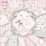 """It's A Girl - First Edition Premium Paper Pad 6""""X6"""" 64/Pkg"""
