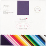 Colossal - Papermania Premium Smooth Solid Cardstock 6 x 6 Pack