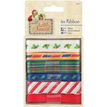 1m Each - Papermania Letter To Santa Ribbon 6/Pkg