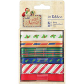 1m Each - Papermania Letter To Santa Ribbon 6/Pkg