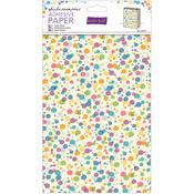 "Whipple-Scrumptious Coloured Spots - Roald Dahl Adhesive Paper 24""X18"""