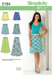 6-8-10-12-14 - SIMPLICITY MISSES SKIRTS PANTS