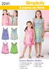 3-4-5-6 - SIMPLICITY CHILD GIRL DRESSES