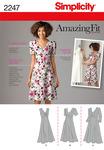 20W-28W - SIMPLICITY MISSES DRESSES