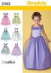 3-4-5-6 - SIMPLICITY CHILD SPECIAL OCCASION