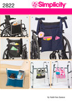ONE SIZE - SIMPLICITY ACCESSORIES FOR WHEELCHAIR AN
