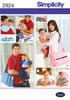 ONE SIZE - SIMPLICITY HIS AND HERS DIAPER BAGS AND