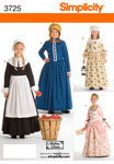 7,8,10,12,14 - SIMPLICITY CHILDS AND GIRLS COSTUMES