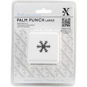 Snow Crystal - Xcut Large Palm Punch