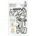 Birthday Party - Xcut Decorative Dies Large