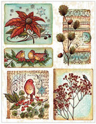Christmas Song Sticker Sheet - Penny Black