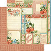 Time To Flourish 12 x 12 Paper Pad - Graphic 45