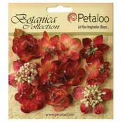 Burgundy Sugared Mini Blooms - Botanica - Petaloo