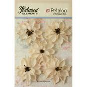 Ivory Small Burlap Wild Sunflowers - Petaloo