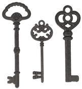 Black Metal Vintage Keys - Art C