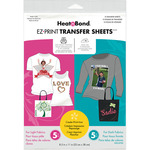 "8.5""X11"" 10/Pkg - Heat'n Bond EZ Print Transfer Sheet Combo"
