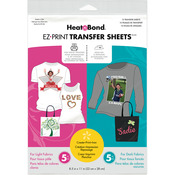 "8.5""X11"" 10/Pkg - Heat'n Bond EZ Print Transfer Sheet Combo"