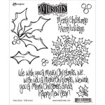 Holly Days - Dylusions Cling Stamp Collection
