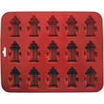 "8.5""X6.75"" 15 Cavity (1.75'X1.75') - Mini Fire Hydrants Silicone Cake Pan"