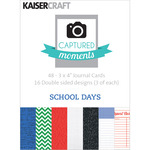 School Days 3 x 4 Captured Moments Double - Sided Cards - KaiserCraft