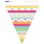 Bunting Shaped Paper Pad - Pop! - Kaisercraft